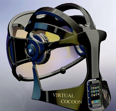 Virtual Cocoon for 3D Cyberspace.